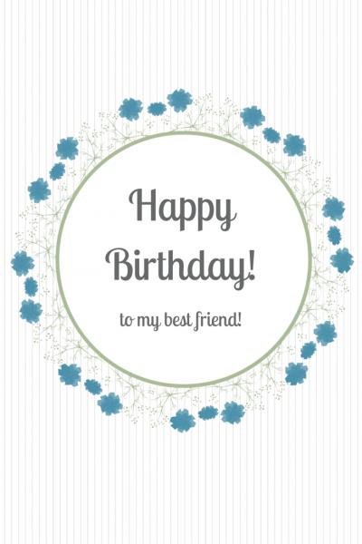 Happy Birthday to my best friend!
