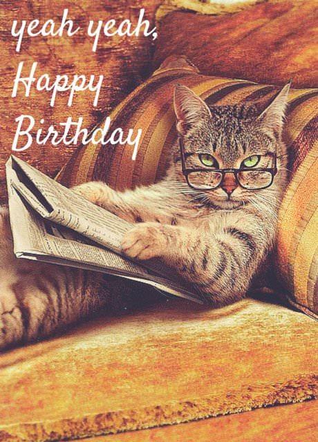 Yeah, yeah, happy birthday.
