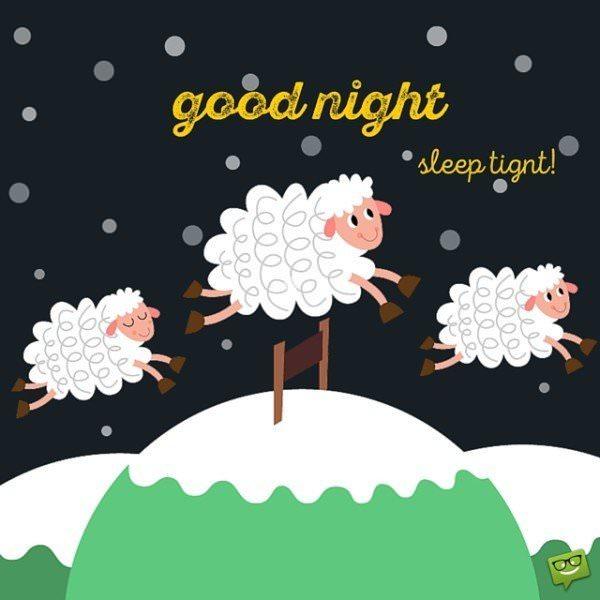Good night, sleep tight!