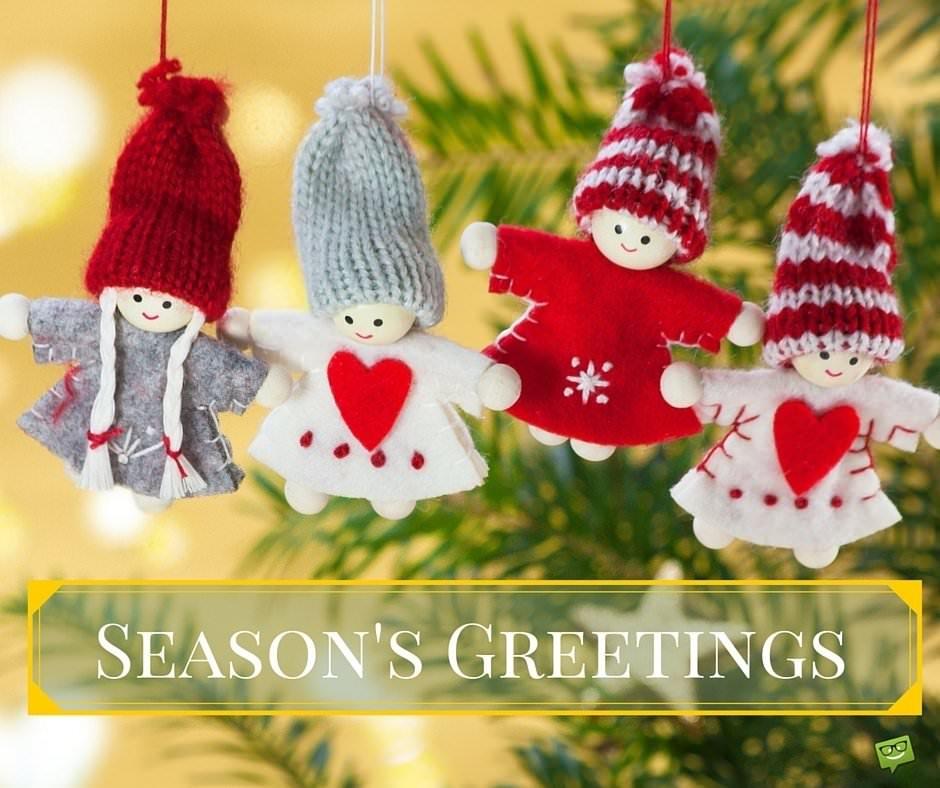 Season's Greetings.