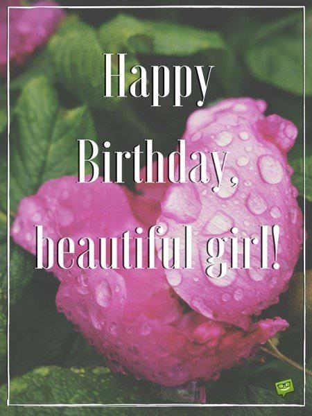 Happy Birthday, beautiful girl!