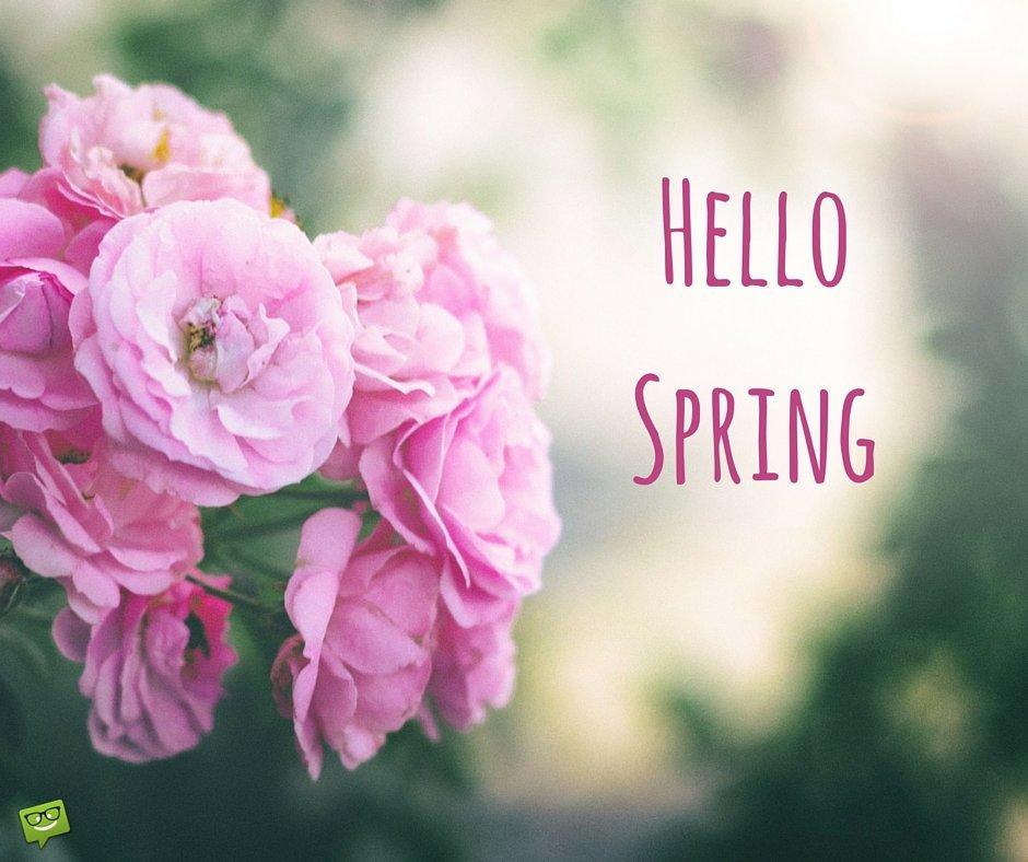 Hello  Spring   Quotes...