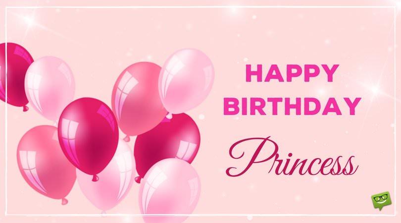 Happy Birthday, Princess.