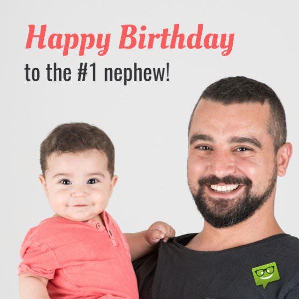 Happy Birthday to the number 1 Nephew!