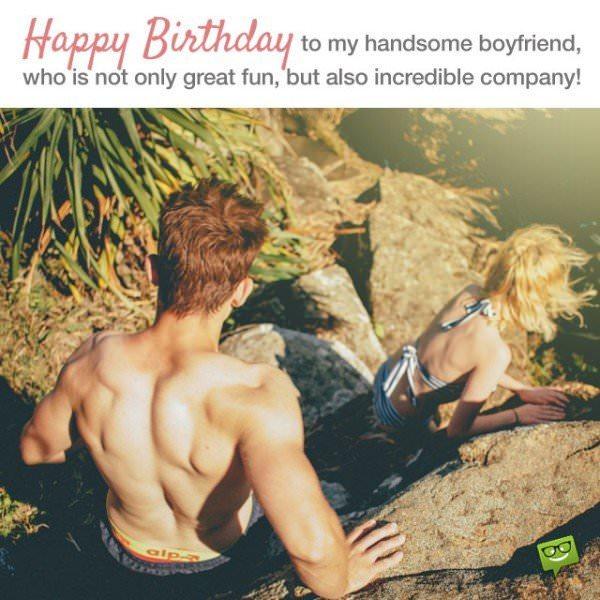 Happy birthday to my handsome boyfriend!