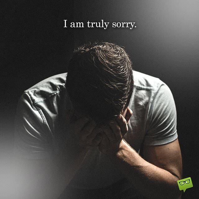 Αποτέλεσμα εικόνας για i am sorry