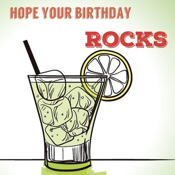 Ηope your birthday rocks!