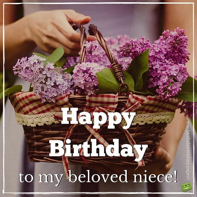 Happy Birthday to my favorite Niece – Niece Birthday Greetings