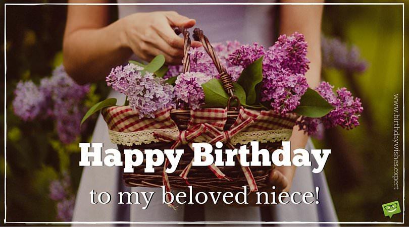 Happy Birthday to my favorite Niece!