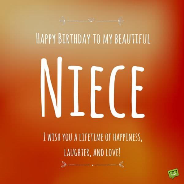 Happy birthday to my beautiful niece. I wish you love.