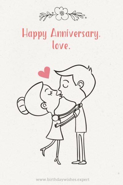 Happy Anniversary, love.