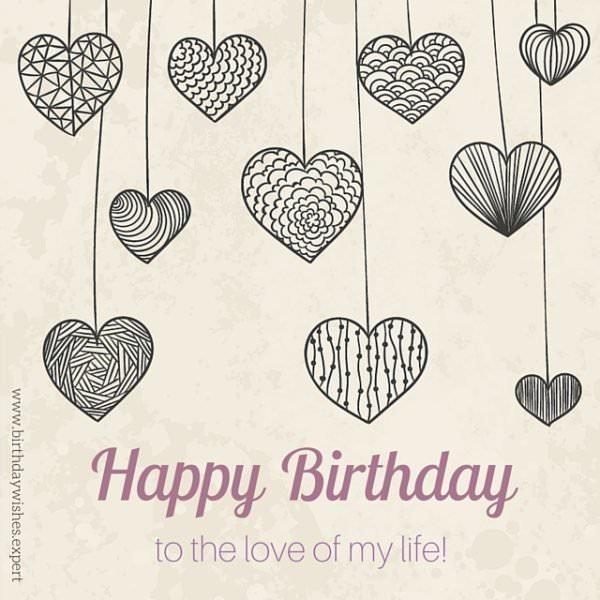 Happy Birthday to the love of my life!