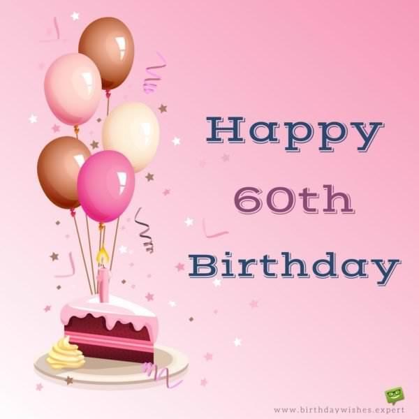 Happy 60th Birthday.