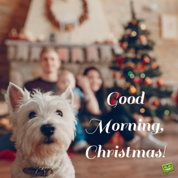 Good Morning Christmas.