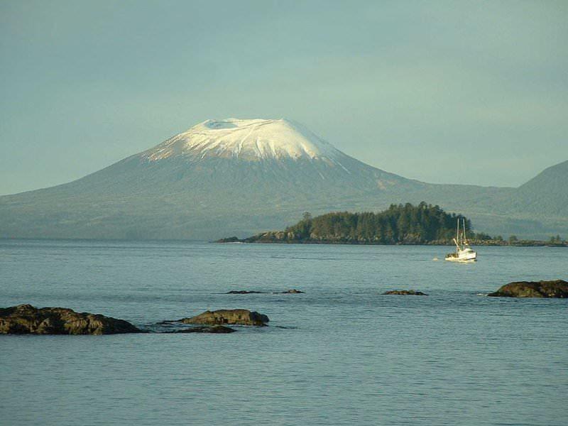 The Eruption of Mount Edgecumbe