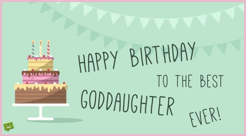 Happy Birthday to the best goddaughter ever!