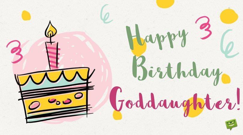 Happy Birthday, Goddaughter!