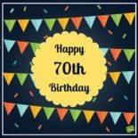 Happy 70th Birthday.