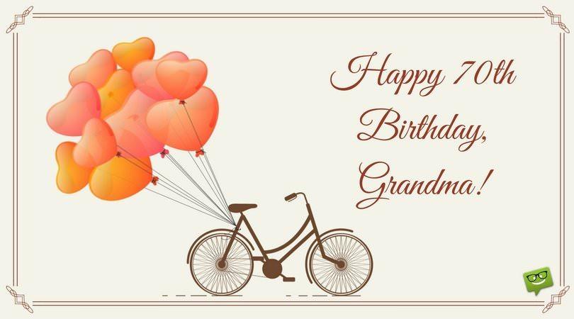 Happy Birthday, Grandma.